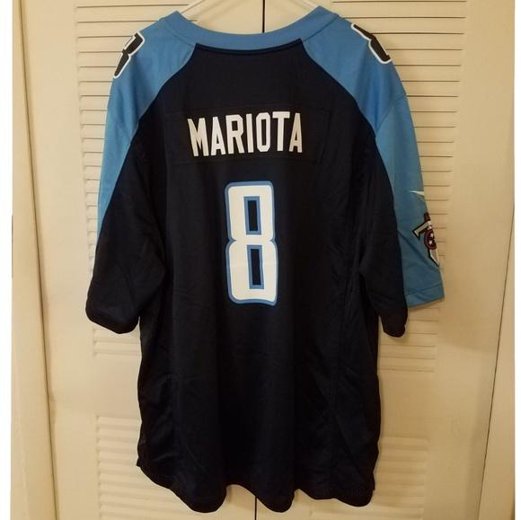 Marcus Mariota Tennessee Titans Jersey. M 5b69da512e1478a4203128b3 15491d586
